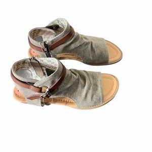 💙Blowfish Brown zip up Pisa Sandals 💙